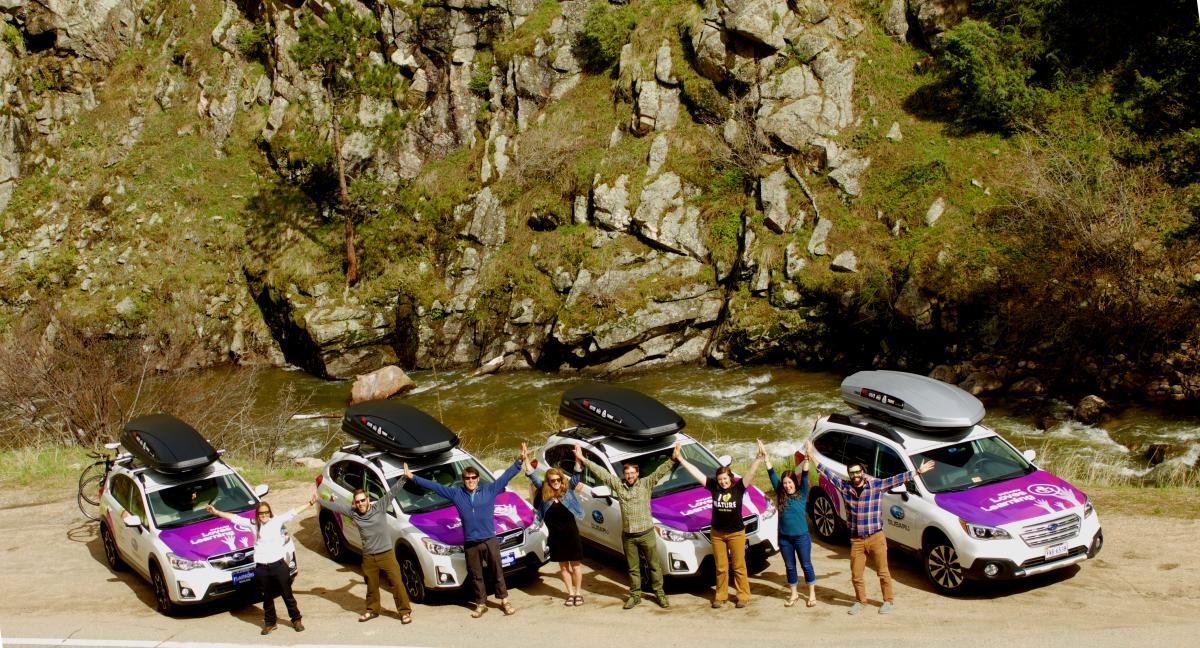 The Subaruleave No Trace Traveling Trainers Leave No Trace