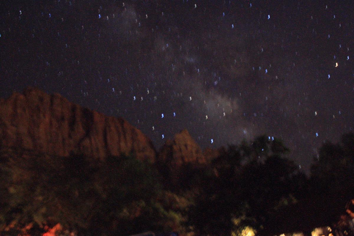 Star Light Star Bright Leave No Trace - Bortle dark sky scale map