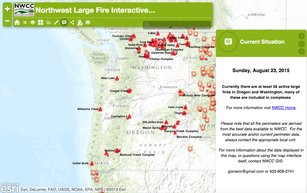 Wildfires Wreak Havoc Across The West Leave No Trace