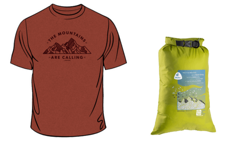 Member Shirt & Deuter Dirtbag