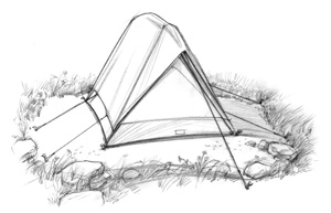 Leave No Trace Principles Camping on Durable Surfaces