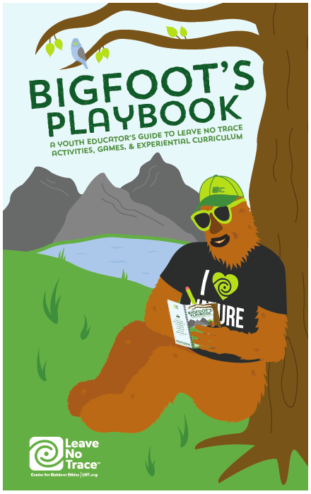 image about Leave No Trace Printable identified as Bigfoots Playbook: A Youth Educators Lead in direction of Go away No