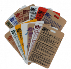 individual ethics reference cards leave no trace
