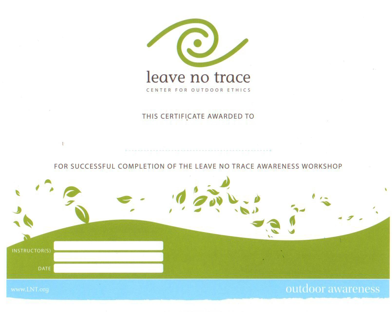 Leave No Trace Publications Leave No Trace