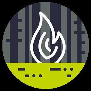 Campfire Impacts Icon