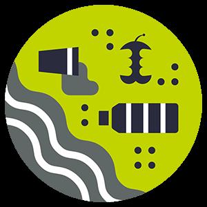 Litter Impact Icon