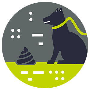 Pet Waste Impact Icon