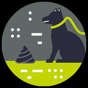 Pet Waste Impact Icon