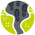 Trail Widening Impact Icon