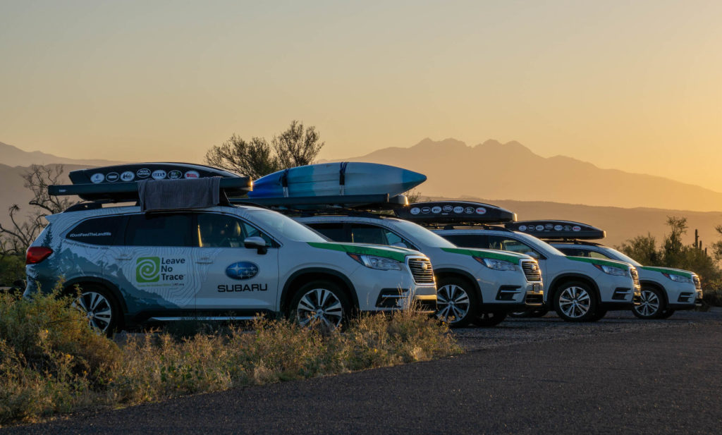 Leave No Trace subaru ascent arizona